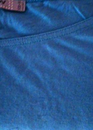 Стильное голубое платье