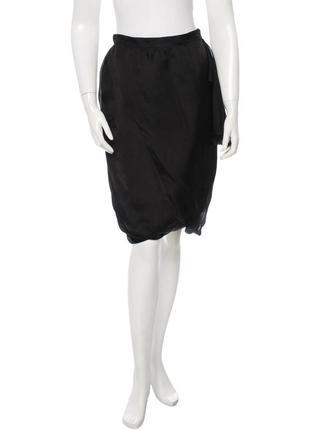 Винтажная шелковая юбка