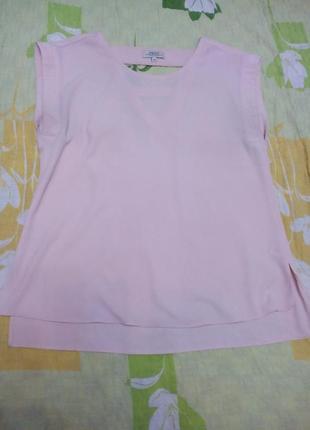 Шикарная блузка, цвет- пудры, от papaya,  р-р 10-12