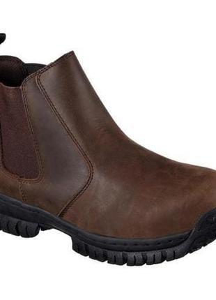 Ботинки skechers men´s work hartan glendo steel toe boot р. 38, 39, 40