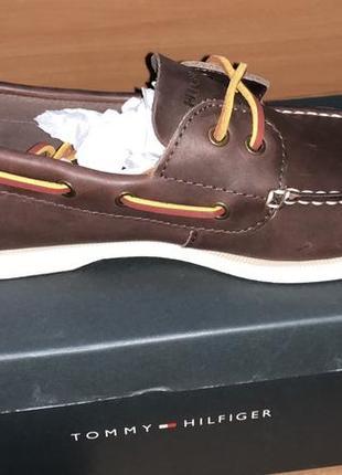 Tommy hilfiger men´s bono shoe, brown, 42- 47