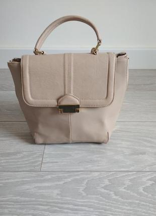 Пудрова сумка topshop