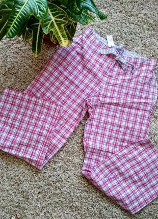 Домашние пижамные штаники м