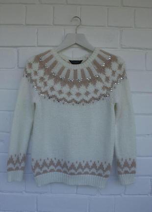 Теплейший мягкий свитер с узором dorothy perkins