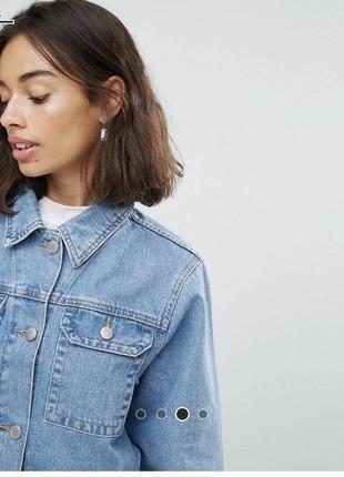 Новая джинсовая куртка asos