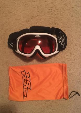 Женские спортивные очки для катания на лыжах и сноубордах