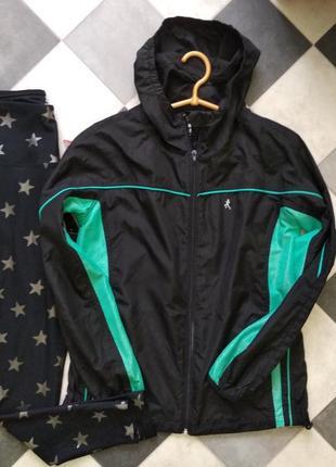 Куртка ветровка для спорта пробежки прогулки от atmosphere workout