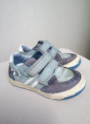 Кожаные кроссовки dd step, р25.