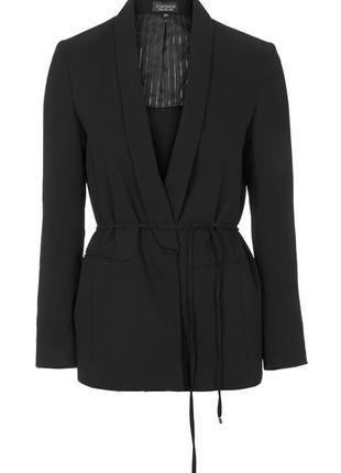 Новый черный пиджак, жакет от topshop