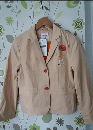 Фирменный пиджак для девочки р. 158 joystar германия