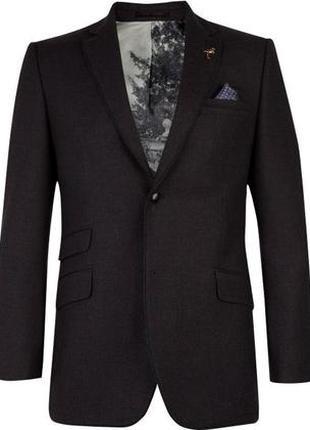 Крутой офисный классический костюмный пиджак блейзер ted baker m-l