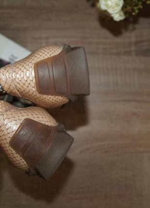 Waldlaufer! кожа! германия! кожа! красивые и комфортные туфли, мокасины2