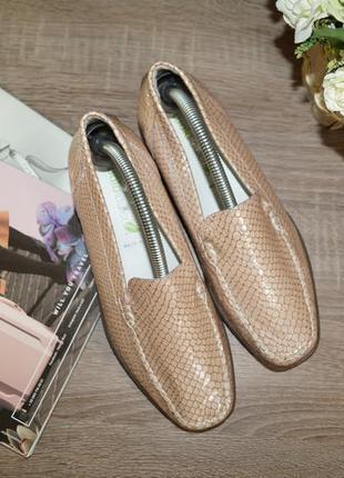 Waldlaufer! кожа! германия! кожа! красивые и комфортные туфли, мокасины5