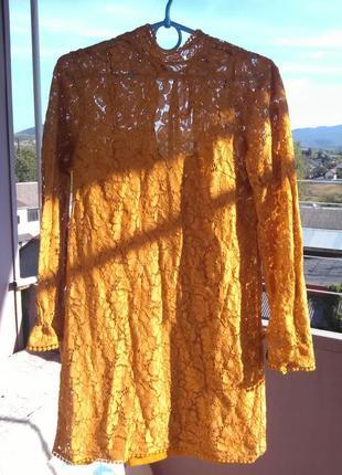 Очень красивое гипюровое платье от h&m