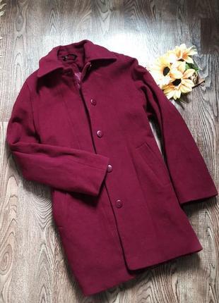 Шерстяное пальто шуба парка куртка плащ bhs
