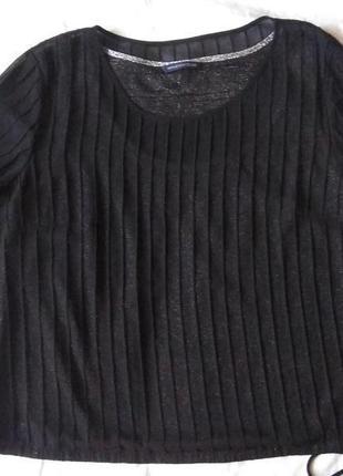 Шифоновая блуза с серебристой подкладкой windsmoor