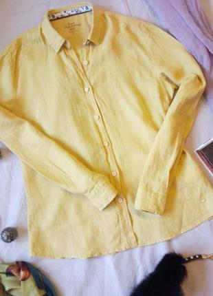 Льняная рубашка xint
