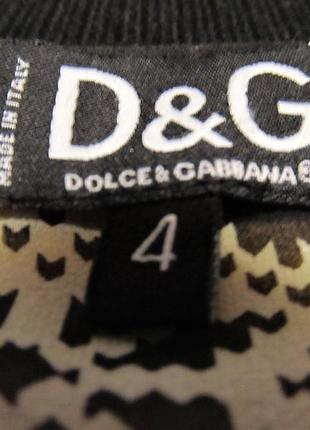 Блуза dolce & gabbana шелковая р.s3 фото