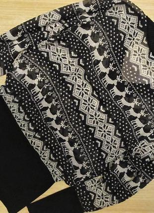 Блуза dolce & gabbana шелковая р.s2 фото