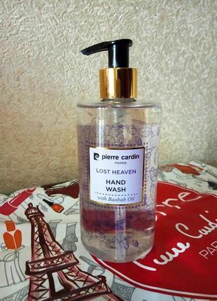 Pierre cardin liquid hand wash 350 ml - lost heaven жидкое мыло для рук