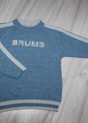 Модный свитер brums