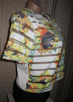Брендовая футболка 44 с рр2
