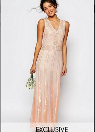 Полная распродажа! шикарное платье для выпускных! новая цена 785 грн.