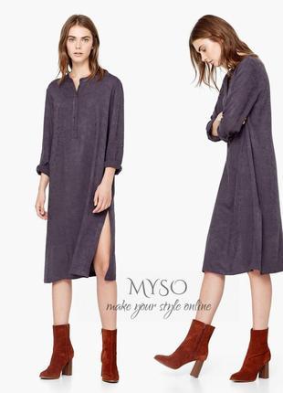 Рубашка - платье от mango