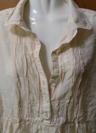 Блуза шелк италия gap