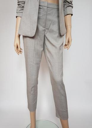 Нарядные брюки, 34р (xs), полиэстер 65%; вискоза 33%; эластан 2%5