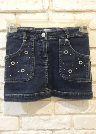 Стильная юбка для девочки miss blumarine
