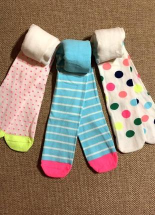 Шикарные колготки marks & spencer малышкам, англия на 0-6,6-12 и 18-24мес