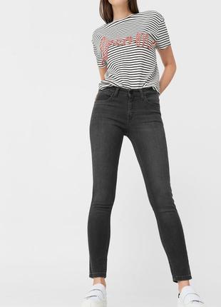 Шикарные джинсы с высокой посадкой от mango, 38р, испания, оригинал