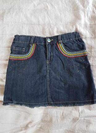 Классная юбка под рубашку или вышиванку