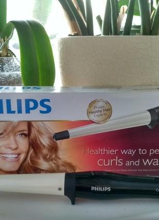 Плойка philips care curlcontrol hp8618