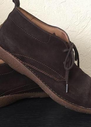 Ботинки осенние geox р.43 28 см
