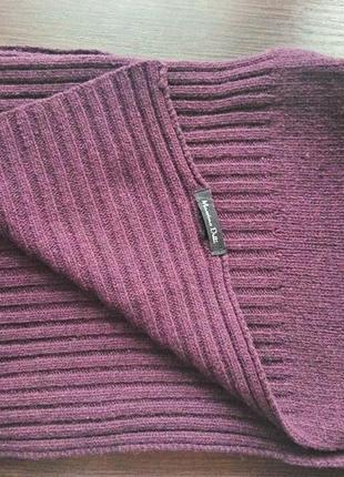 Шерстяной шарф massimo dutti