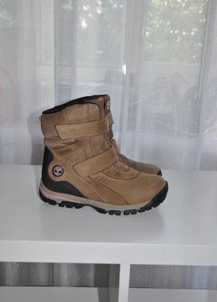 Зимние ботинки timberland 35-36р 22,5см