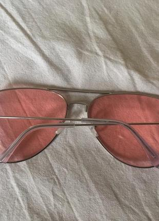 Розовые очки авиаторы