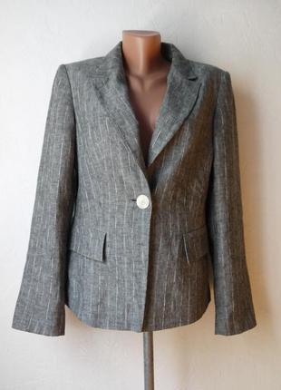 Классический пиджак -лен