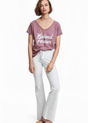Домашние пижамные брюки h&m