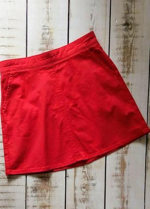 Красная юбка oasis