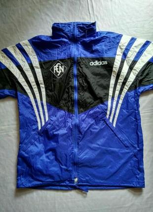 Дождевик adidas оригинал с капюшоном ветровка куртка для спорта
