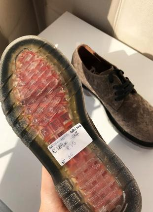 Роскошные туфли дерби, натуральная замша5 фото