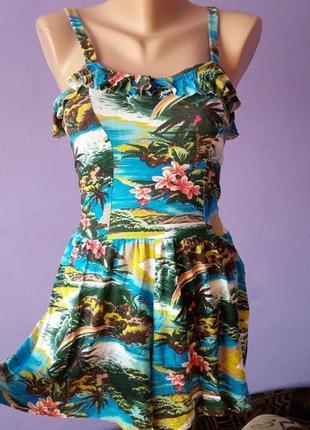 Плаття (ромпер) з рюшами