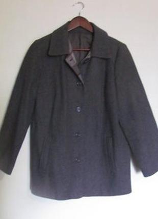 Пальто шерсть l бойфренд