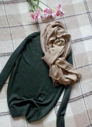 Стильный свитерок кофта кофточка 100% merino wool  от we