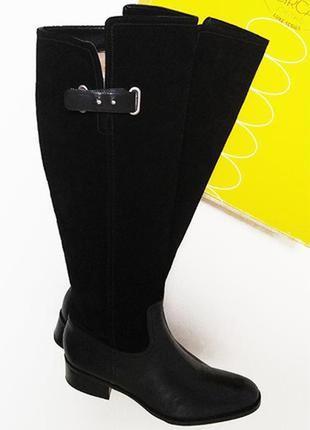 Кожаные сапоги сirca joan&david  39 размер