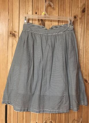 Милая юбка в полосочку