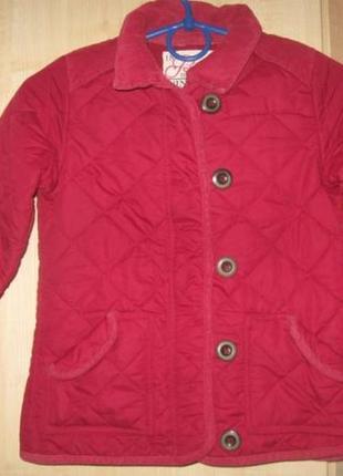 Стьогана куртка miss e-vie на 6-7 років